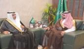 وكيل إمارة الشمالية يلتقي مدير عام المحطات الداخلية بالخطوط السعودية