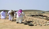 حفريات أثرية تكشف حقائق مثيرة عن الدوادمي قديما