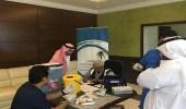 """بالصور.. """" عمل مكة """" تقيم حملة تطعيم للانفلونزا والحمى الشوكية"""