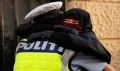 بالصور.. دنماركيات غير مسلمات يتظاهرن ضد حظر النقاب