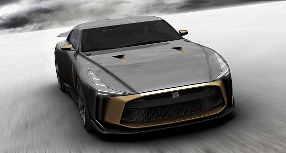 بالفيديو.. نيسان GT-R50 الجديدة تصارع الحلبة لأول مرة
