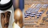 """"""" تنظيم الحمدين """" يبدد أموال شعبه على قاعدة """" العديد """" الأمريكية"""