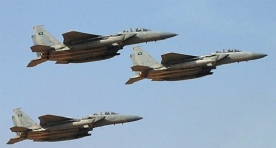 """"""" التحالف """" يدمر مخزن سلاح تابع للحوثيين في الحديدة"""