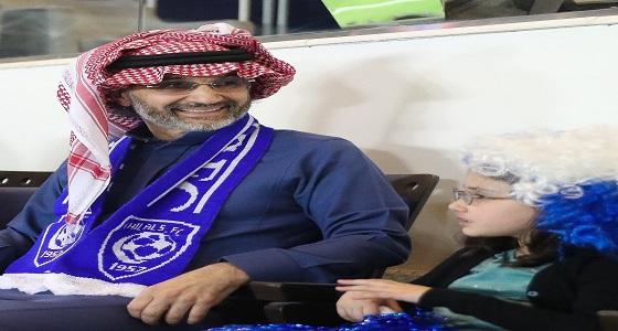 """الأمير """" الوليد بن طلال """" يهدي الهلال مليون ريال لفوزه بالسوبر"""