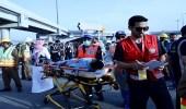 فرق الهلال الأحمر السعودي تنفذ تدريب فرضي على حادث تسريب غاز في مشعر منى
