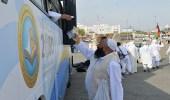 بالصور.. الحافلة التوعوية لهيئة الأمر بالمعروف تخدم ضيوف الرحمن