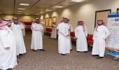 وكيل جامعة الملك سعود يزور البرنامج التعريفي للطلاب الجدد