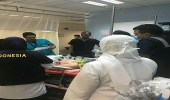 إنقاذ حياة حاجين تعرضا لغيبوبة وصعوبة في التنفس بمطار جدة