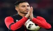 """مهاجم المنتخب المغربي """" عزيز بوحدوز """" بطناوي"""