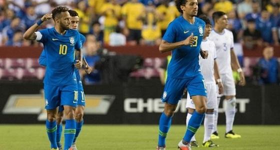بالفيديو.. البرازيل تفوز على السلفادور بخماسية نظيفة