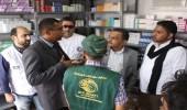 سلمان للإغاثة يدشن مخيم النازحين في بني جابر بمديرية الخوخة بالحديدة