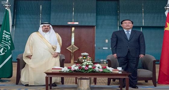 أمير الرياض يشرف حفل سفارة جمهورية الصين الشعبية