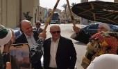 """رئيس فيفا يصل إلى شرم الشيخ.. و """" الطبل والمزمار """" في استقباله"""