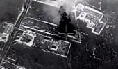 """بالفيديو.. """" التحالف """" يرصد إحراق الحوثيين محطة وقود بالحديدة"""