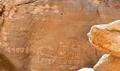 بالصور.. ملامح نقش رمسيس الثالث المكتشف بالقرب من تيماء