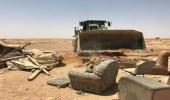 أمانة الرياض تزيل أكثر من 1700 عنصر تلوث بصري بحي نمار ومخطط الموسى