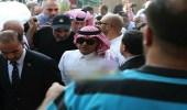 سفير خادم الحرمين بالأردن يعزي أسرة الإعلامي الأردني سعد السيلاوي