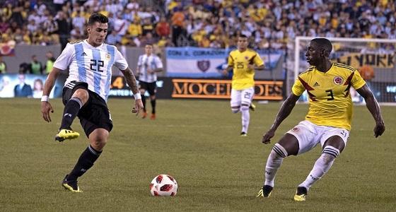 الأرجنتين تتعادل سلبيا مع كولومبيا وسط أداء محبط من الطرفين