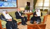 أمير منطقة الرياض يستقبل وفد لجنة الصداقة البرلمانية الكرواتية السعودية