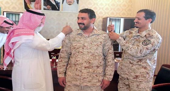 ترقية الرائد ميزر بن سطم بن عجل إلى رتبة مقدم