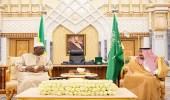 خادم الحرمين الشريفين يستقبل رئيس السنغال