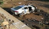 بالصور.. وفاة شخص وأصابة اخر بطريق العرضيات إثر حادث مروري