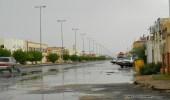 هطول أمطار على الدوادمي