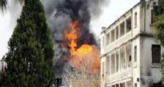 بالفيديو.. مصرع وإصابة 4 أشخاص نتيجة انفجار في فرع للاستخبارات الروسية