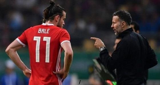 جيجز: بيل لم يشارك في المباراة الودية أمام إسبانيا