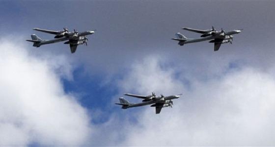 مقاتلات تايفون تعترض قاذفات روسية قرب المجال الجوي البريطاني