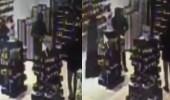 بالفيديو.. وافد يعتدي على فتاة في معرض للمستلزمات النسائية