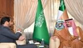 وزير الحرس الوطني يستقبل سفير جيبوتي لدى المملكة بمكتبه