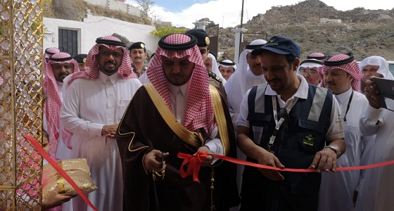 تدشين مركز صحي شرق المنظر في محافظة بارق
