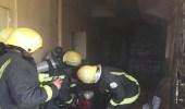 بالصور.. اندلاع حريقين منفصلين في منزلين بالقطيف وبلجرشي