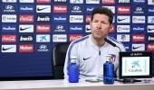 """"""" سيميوني """" يرفض التعليق على إمكانية تجديد عقده مع أتلتيكو مدريد"""