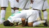 """بالصور.. """" الأخضر """" يتغلب على الصين بهدف نظيف في كأس آسيا للشباب"""