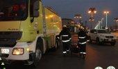 """"""" مدني رفحاء """" ينقذ 11 شخص من تسرب الغاز بأحد الشقق"""