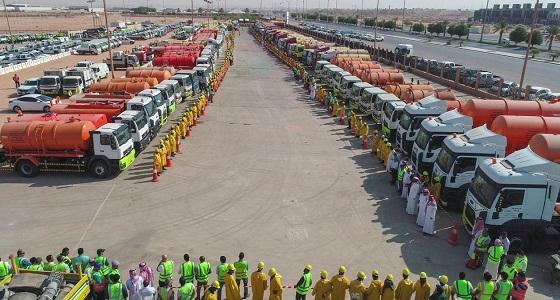 أمانة الرياض تكمل استعدادتها لموسم الأمطار
