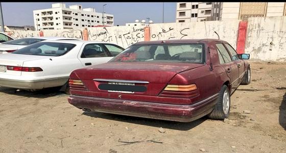 إزالة 17 سيارة تالفة بحي العتيبية بمكة