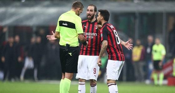 هيغواين يعتذر بعد إهداراه ركلة جزاء في الدوري الإيطالي