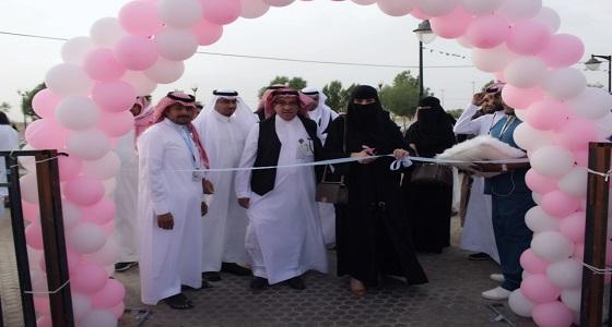 """"""" صحة الرياض """" تطلق مبادرة """" نبدأ بخطوة """" في ممشى عكاظ"""