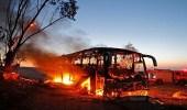 """بالفيديو..لحظة تدمير حافلة تقل جنودا إسرائيليين بصاروخ """" كورنيت """""""