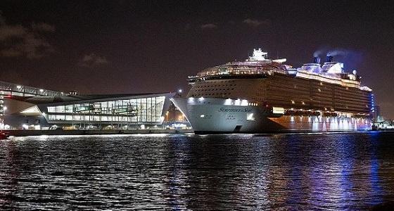 أكبر سفينة سياحية في العالم تبحر من الولايات المتحدة