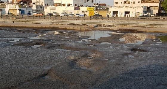 بالفيديو والصور.. أهالي حي الروابي يناشدون معالجة حفر الأمطار