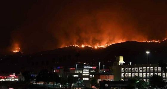 الملحقية الثقافية تطالب الطلاب بإخلاء المساكن بعد حرائق لوس أنجلوس