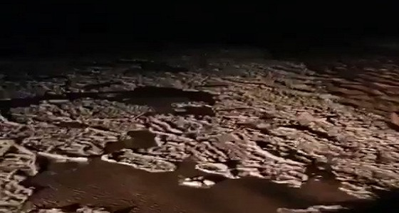 بالفيديو.. مشاهد خيالية من سيول وبروق  جنوب غرب شقراء