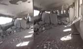 بالفيديو.. الحوثيون يفجرون جامعا كبيرا بالحديدة