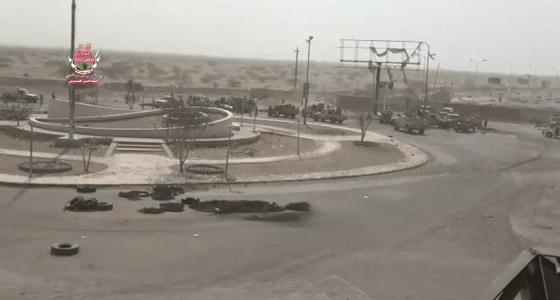 """"""" الحوثي """" تفجر مستشفى 22 مايو بالحديدة والتحالف يقصف مواقع تحصيناتها"""