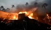 بالصور.. حرائق غابات تنتشر في شمال كاليفورنيا وفرار آلاف السكان