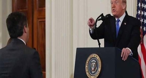 بالفيديو.. ترامب يهدد مراسل CNN بعد انتصار القضاء له وإعادته للبيت الأبيض